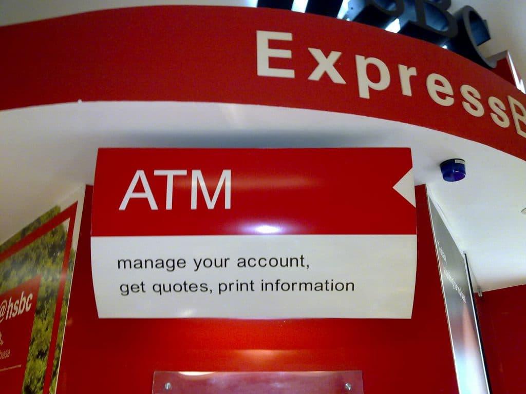 HSBC ATM