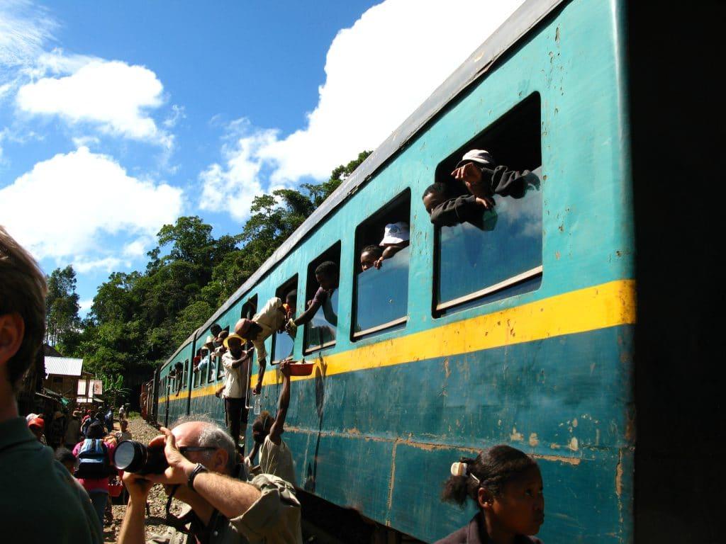 Madagascar's Train Trip