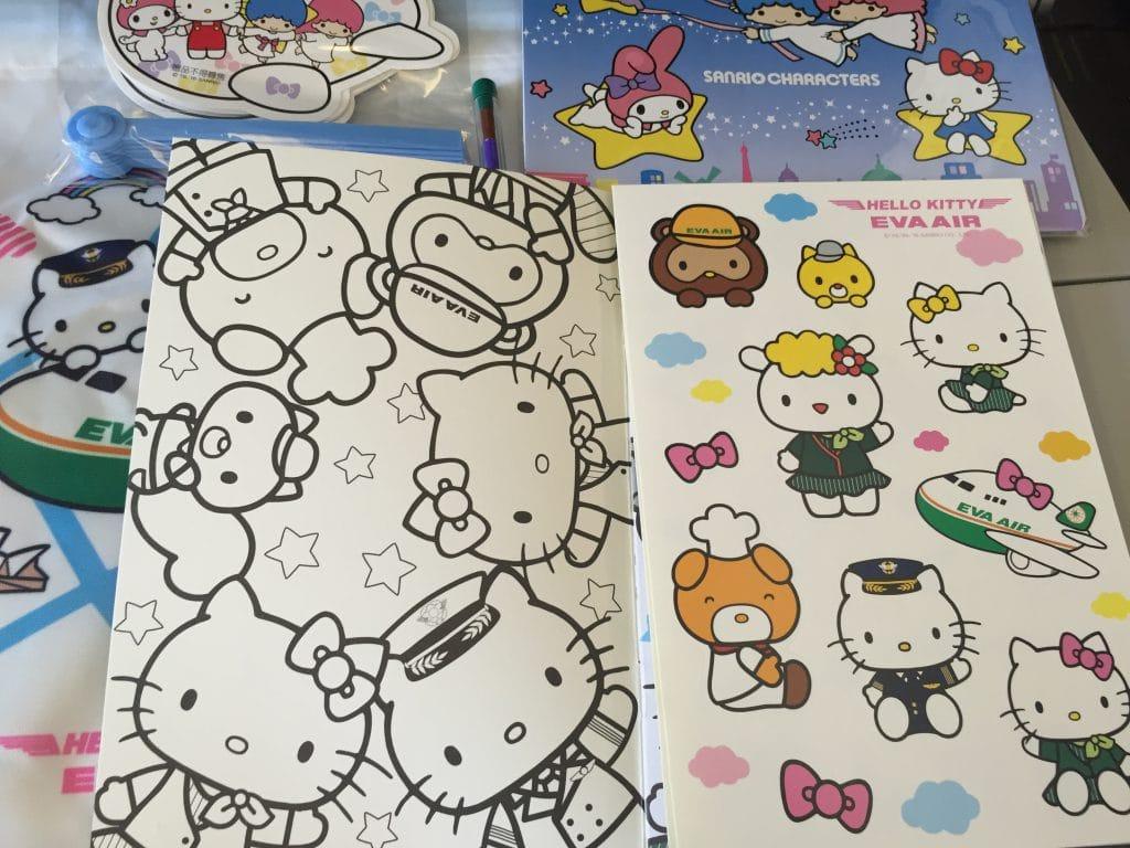 Hello Kitty 彩繪機