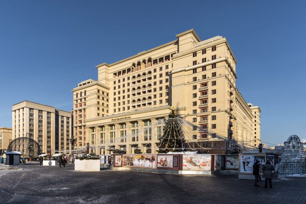 Four Seasons Hotel in Moscow