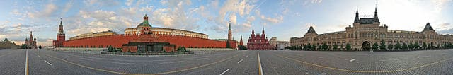 360° Panorama of Red Square: Kremlin