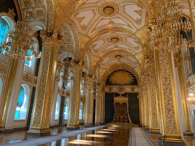The Grand Kremlin - The Andreevsky hall