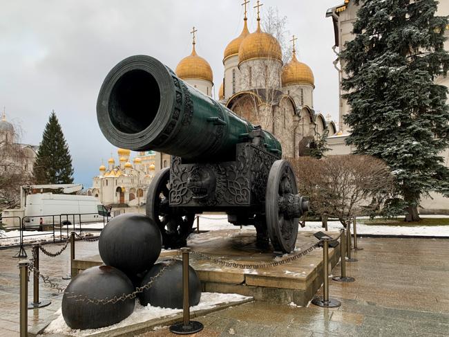 Moscow Kremlin - Tsar Cannon