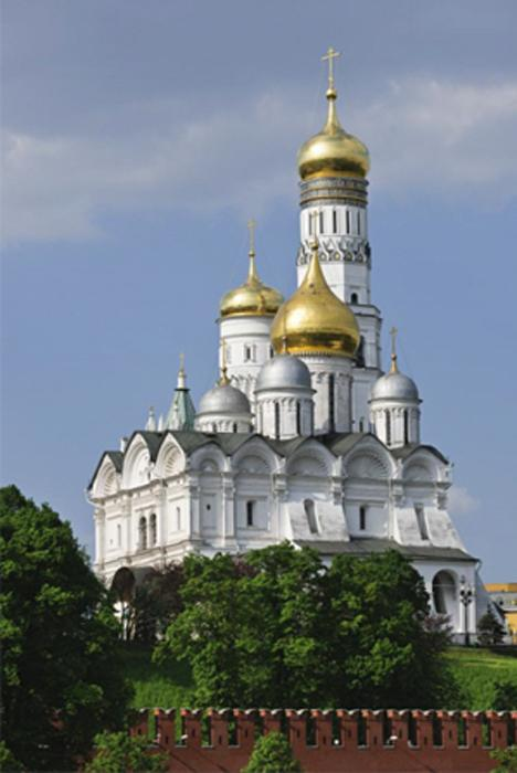 Kremlin Museum - Cathedral of Archangel