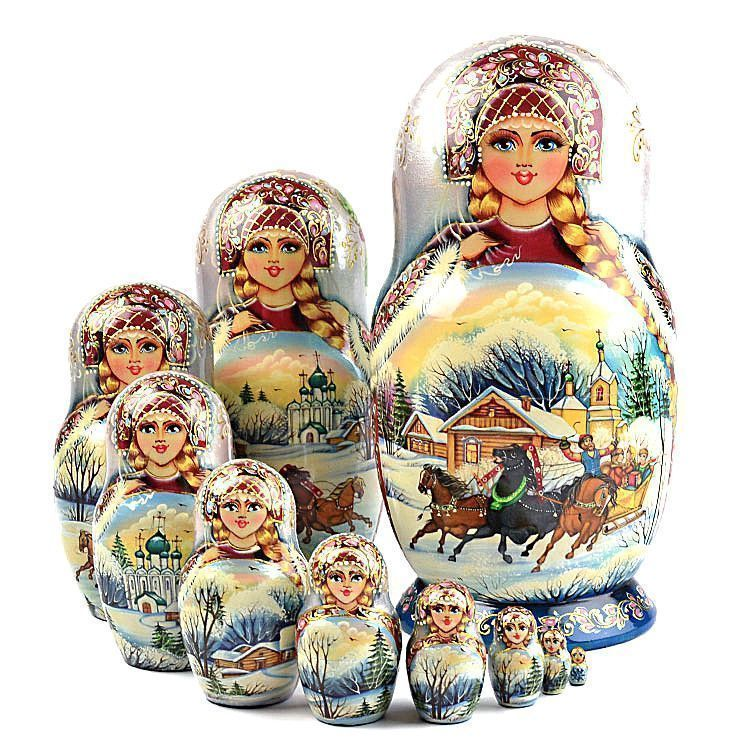 Troika Doll Souvenir
