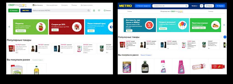 Online Shopping Platform - Metro